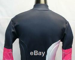 Spyder Femmes Nine Ninety Ski Zip-front Race Costume Mc7 Depth / Bryte Rose Grande