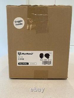 Super 73 Type Ruroc Rg1-dx Lunettes Casque De Base Et Extra Teinté Xl-xxl Nouveau