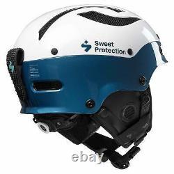 Sweet Protection Sweet Trooper II Sl Mips Casque Gloss Blanc/bleu Teal
