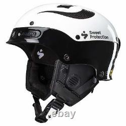 Sweet Protection Trooper II Sl Casque Mips Gloss Blanc/gloss Noir