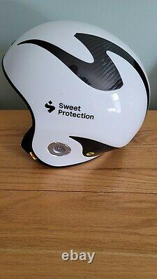 Sweet Protection Volata Wc Carbon Mips Helmet 2020 Blanc/ Noir (l/xl)