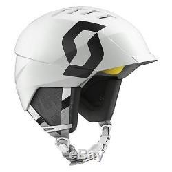 Symbole Scott Helm Weiß Mat, Skihelm, Snowboard, Casque, Neu, Uvp 159,95, Gr.