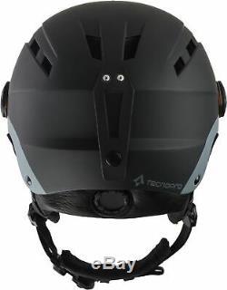 Tecnopro Erwachsenen Ski-helm Skihelm Mit Visier Titan Photochromique Schwarz