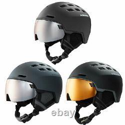 Tête Radar Skihelm Mit Visier Snowboardhelm Wintersport Helm