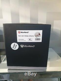Tout Nouveau Casque De Ski Ruroc Rg1 DX Inferno Complet Avec Tout Emballage Inclus