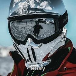 Tout Nouveau Ruroc Rg1-dx Chrome Ski Snowboard Helmet Taille XL