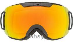 Uvex Downhill 2000 CV Noir Ora Skibrille Neu Snowboardbrille Brille Schutz J19