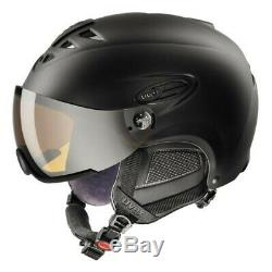 Uvex Hlmt 300 Noir Mat Visière Argent Ltm Skihelm Snowboardhelm Visier Helm