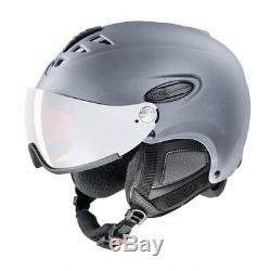 Uvex Hlmt 300 Pare-soleil Skihelm Grau Snowboardhelm Unisexe Visierhelm Skaterhelm
