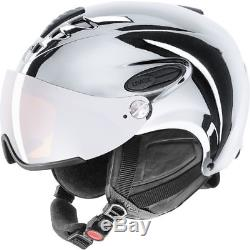 Uvex Hlmt 300 Visor Skihelm Chrome Silber