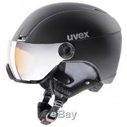 Uvex Hlmt 400 Tapis Style Noir Mat Skihelm 53-58cm -58-61cm