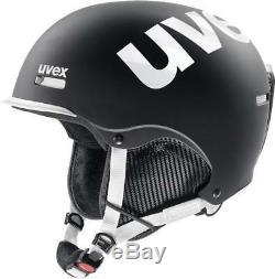 Uvex Hlmt 50 Noir-blanc Mat Skihelm Snowboardhelm Tourenhelm Neu Hiver J18