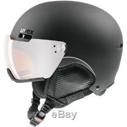 Uvex Hlmt 500 Visor Noir Mat Skihelm Snowboardhelm Visier Tourenhelm Neu Helm