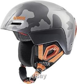 Uvex Jimm Octo + Plus Ski Snowboard Unisex Casque Camo Gris L / XL 59-61 CM Nouveau