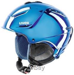 Uvex P1us Pro Chrome Bleu Ltd Skihelm Superleicht Snowboardhelm Wintersporthelm