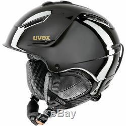 Uvex P1us Pro Chrome Noir Ltd Skihelm Leicht Snowboardhelm Wintersporthelm J18