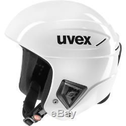 Uvex Race + Tout Blanc Skihelm Weiß