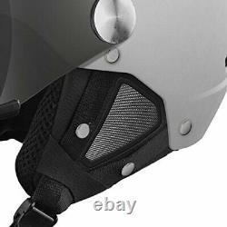 Visière D'arrière En Blanc Doux Avec 1 Visière De Pistolet En Argent + 1 Visière De Citron 56-58cm