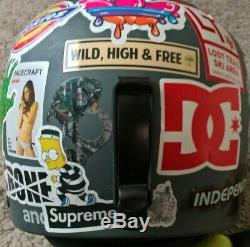 X Games Supreme Simpsons Burton Anon Blitz Casque Skate Snowboard Taille Petit